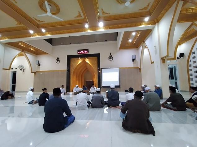 DKM Al Barokah Menghentikan Sementara Kegiatan Masjid