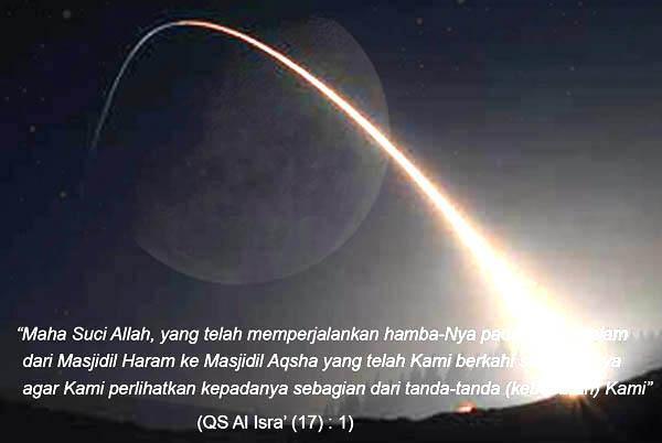 Mengambil Hikmah dari Isra' Mi'raj Nabi Muhammad SAW