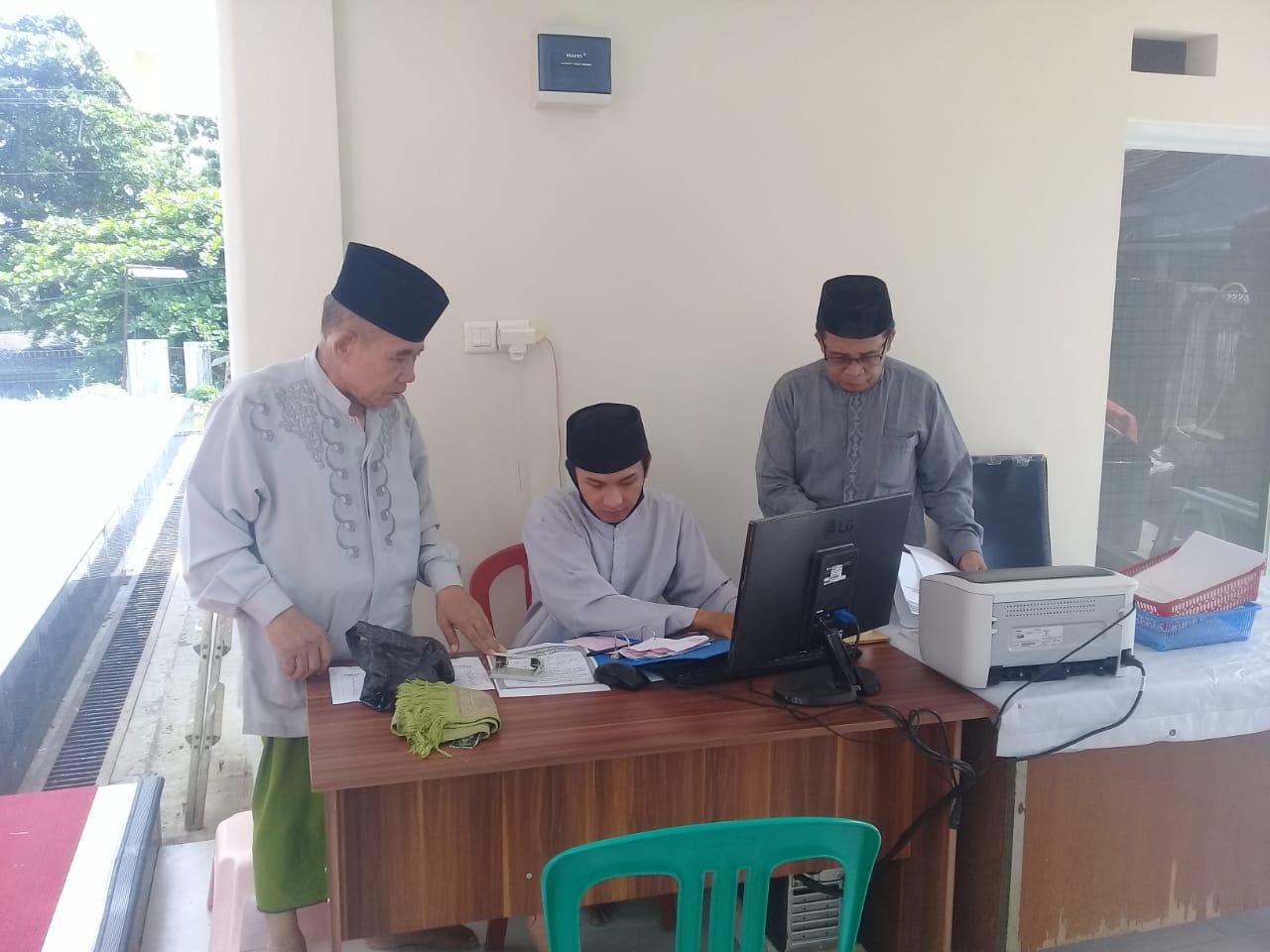 Dibuka, Mulai 21 Ramadhan, Masjid Al Barokah Menerima Pembayaran Zakat, Infaq Dan Sodaqoh