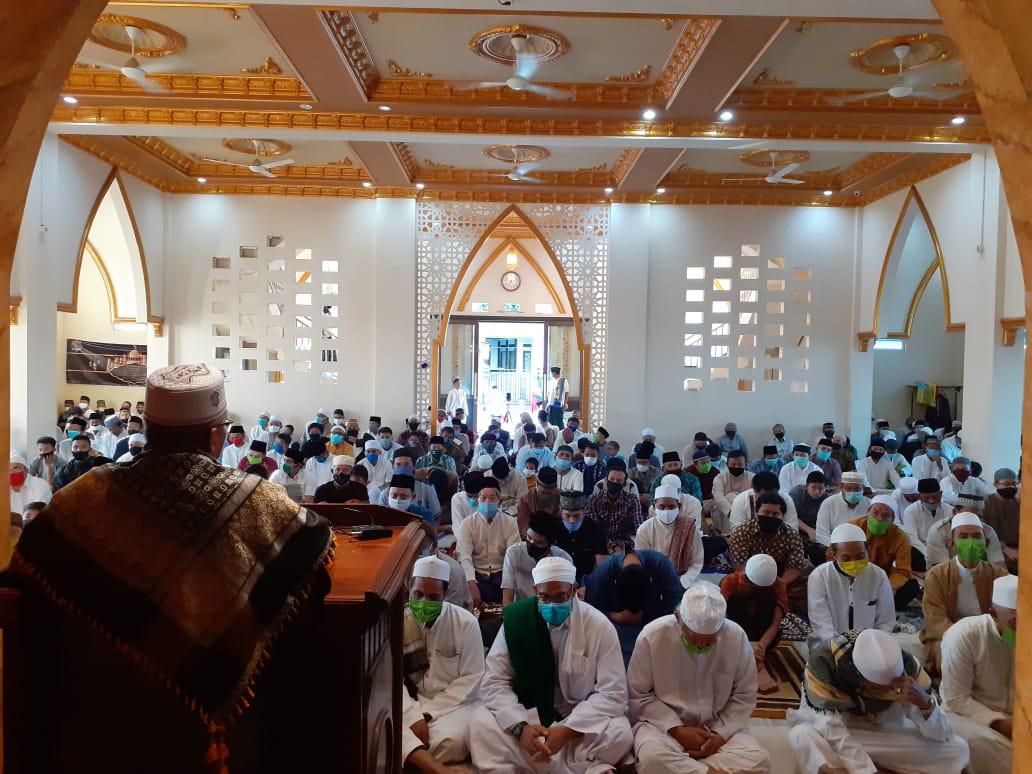 Masjid Al Barokah menyelenggarakan Sholat Ied 1441H.