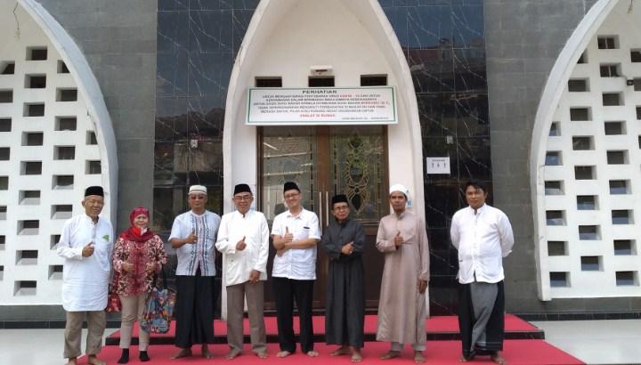 Kunjungan Litbang Kemenag Pusat dan MUI Sukaraja ke Masjid Al Barokah